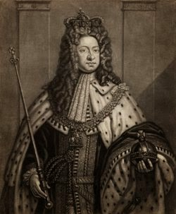 George I in his coronation robes
