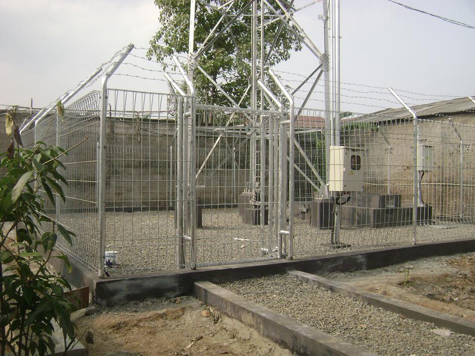 Produksi dan jual pagar tower bts harga pabrik kualitas terbaik