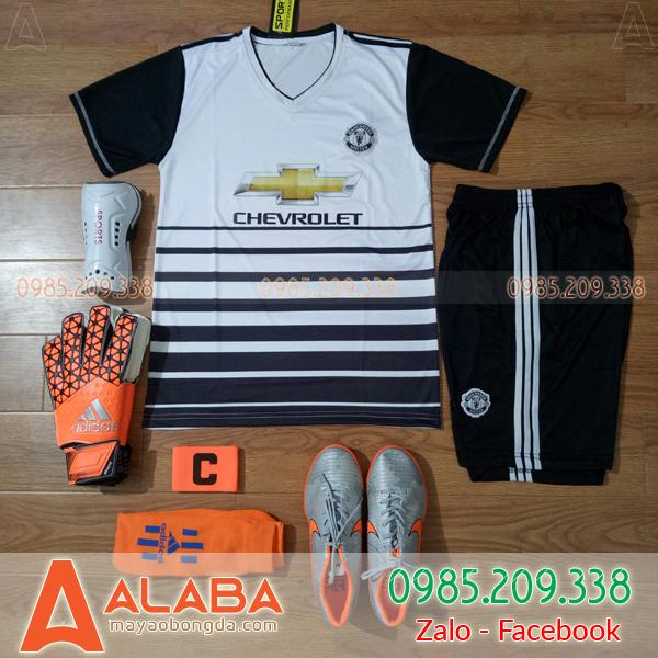 Áo CLB MU 2019 Màu Trắng Đen Lạ