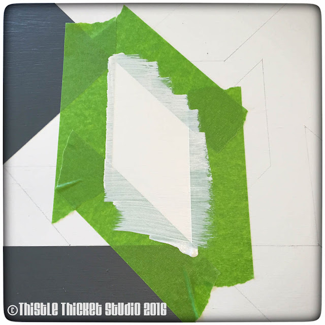 Thistle Thicket Studio, barn quilt, barn quilts, barn quilt directions, how to paint a barn quilt