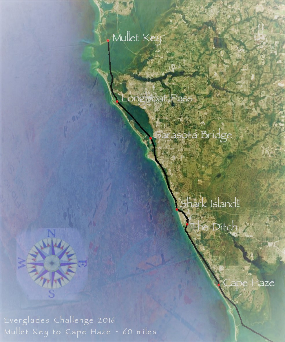 Everglades Challenge 2016 Mullet Key to Cape Haze ~ 60 miles