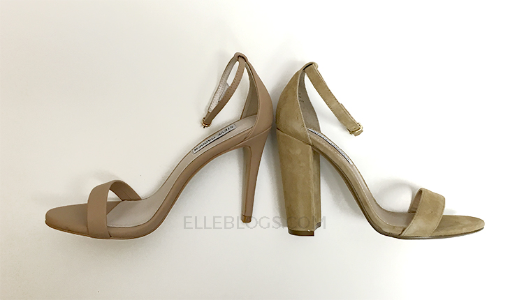 ad7ed48be22f5 Review  Steve Madden Carrson Suede Sandal - Elle Blogs