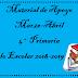 Material de Apoyo (Marzo-Abril) 4° Primaria Ciclo Escolar 2018-2019.