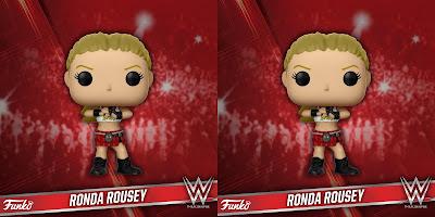 """WWE Ronda """"Rowdy"""" Rousey Pop! Vinyl Figure by Funko"""