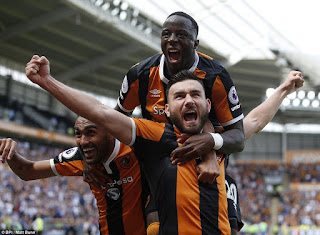, Adama Diomande scores the first goal of 2016/2017 season as Hull City defeats the Champion Leicester, Latest Nigeria News, Daily Devotionals & Celebrity Gossips - Chidispalace