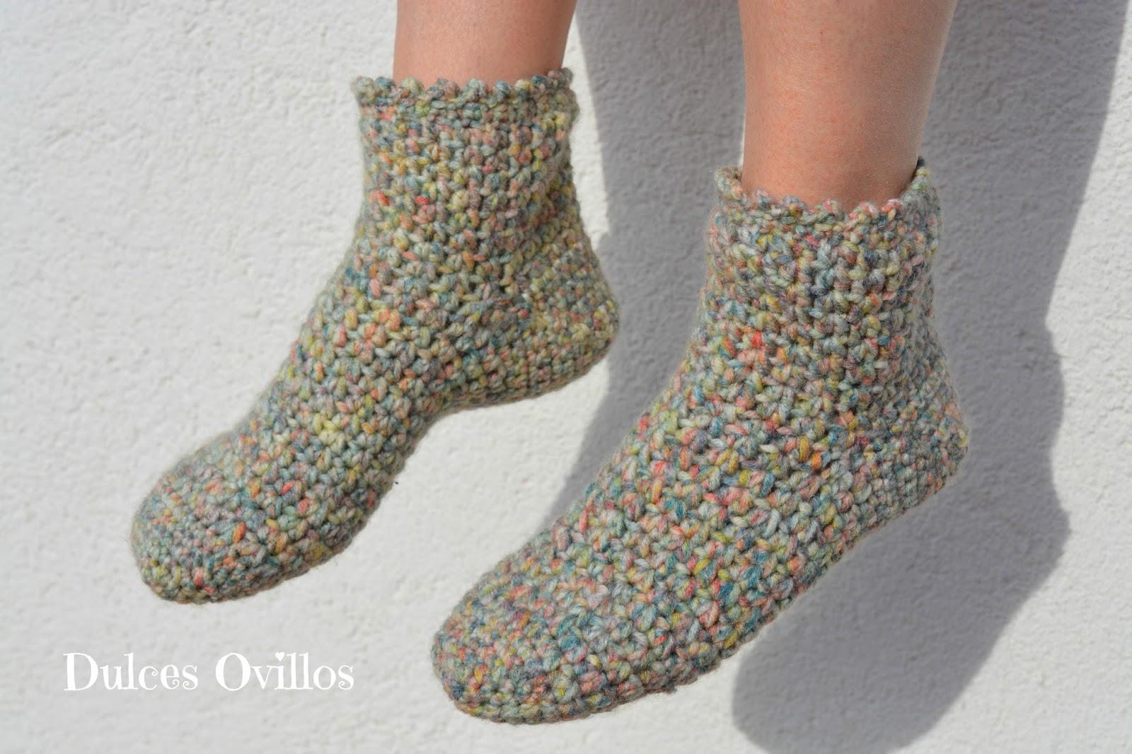 Calcetines a crochet con Lanas Rubí - Crochet socks - Handbox Craft ...