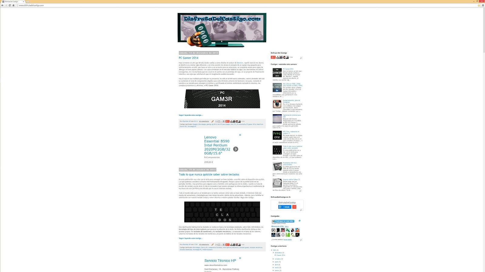 Web a 2160p (4K UHD) - comparativa con 1080p y 1440p