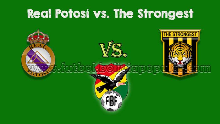 Real Potosí vs. The Strongest - En Vivo - Online - Torneo Clausura 2018