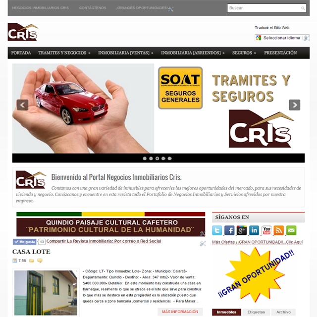 www.NegociosInmobiliariosCris.com