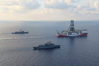 Kapal Perang Turki Usir Kapal Israel