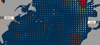 graphic of VOR wind and weather