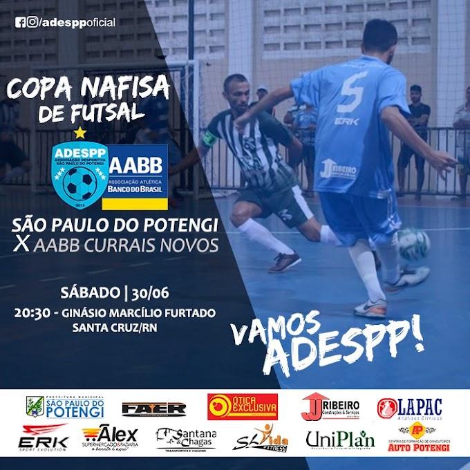 ADESPP estreia neste sábado dia (30) na Copa Nafisa de Futsal em Santa Cruz