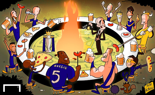 Leicester City big feast