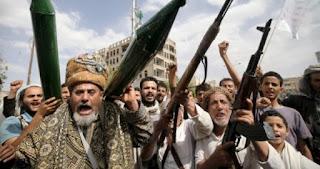 Pemberontak Syiah Houthi Yaman Tembakkan Rudal Balistik ke Riyadh
