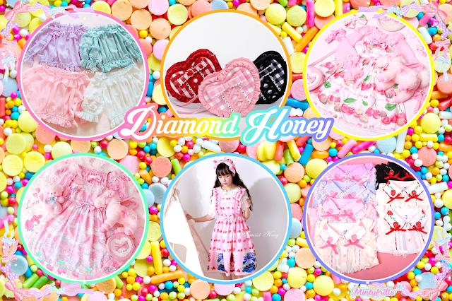 Diamond Honey taobao sweet lolita fashion brand feature mintyfrills