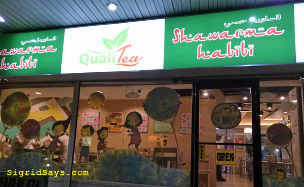 Qualitea and Shawarma Habibi - Bacolod restaurant