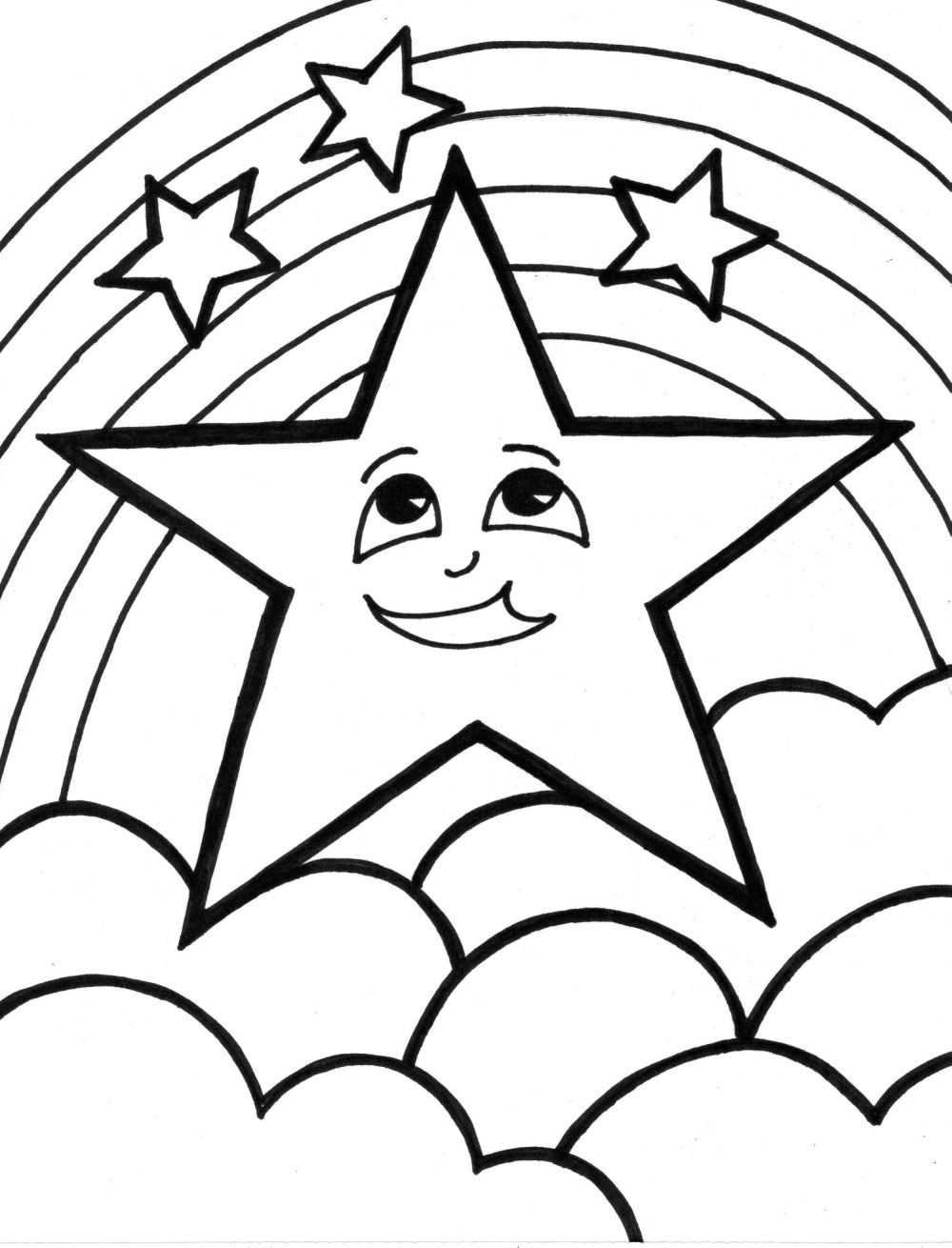 Coloring Pages Online Star Coloring Pages
