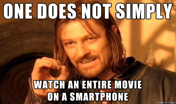 """""""One does not simply..."""" meme"""