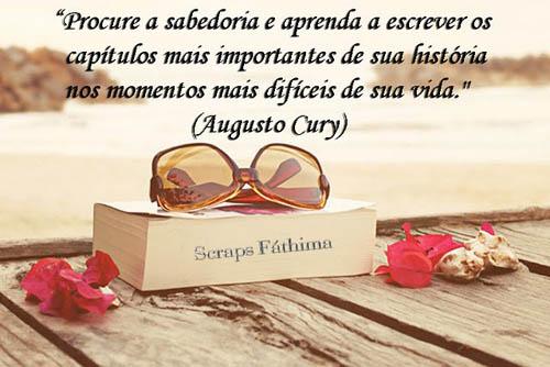 Mensagens De Otimismo Para Compartilhar Piadas Para: Imagens Com Frases De Augusto Cury:Piadas Para Facebook