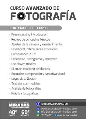 Curso Avanzado de Fotografía, con Carlos Larios