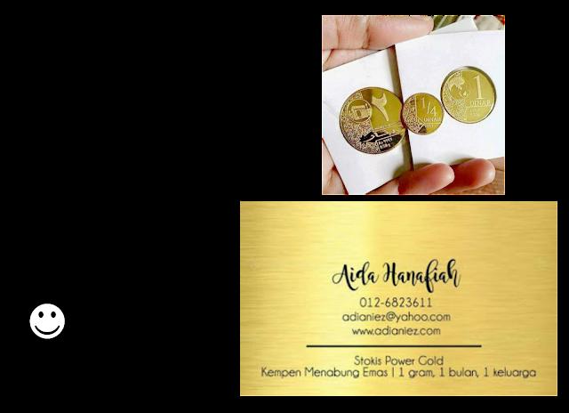 simpanan emas untuk kos menunaikan haji