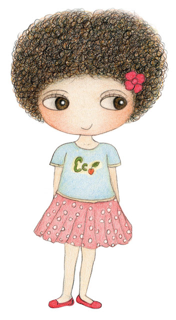 Hello! I'm Little Curly, a girl who love nature and animals.