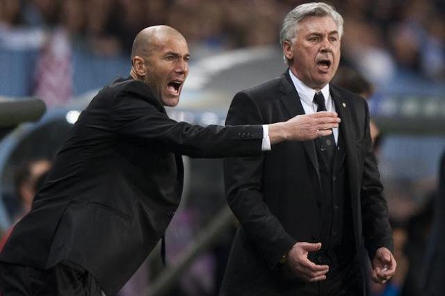 """""""Ini Mirip Seperti Pada Masa Ancelloti setelah tidak terkalahkan lalu terjun bebas """" Ucap Zidane"""