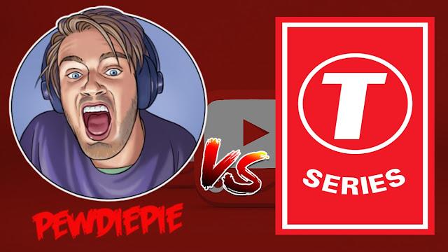 pewdiepie vs t series live countdown