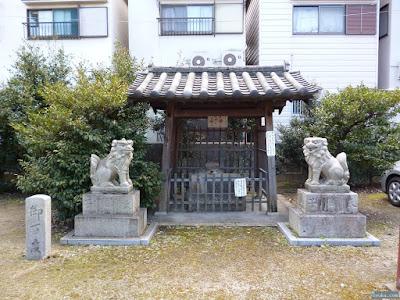 柴島神社手水舎