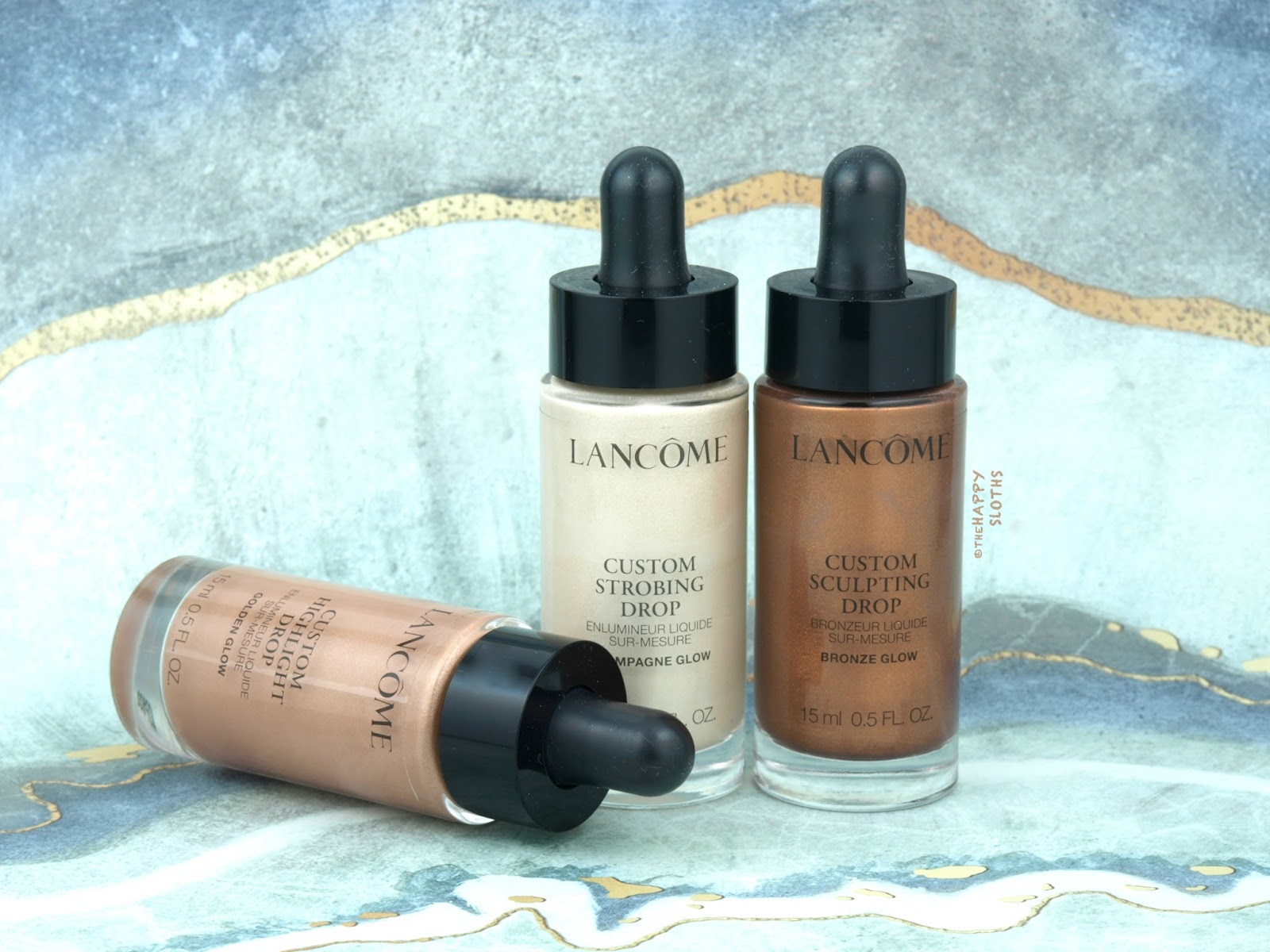 Lancome | Custom Glow Drops Ultra-Concentrated Liquid Highlighter: Review and Swatches