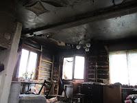 Пожар в селе Троицкое, неисправность электрооборудования