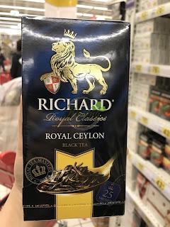 Trà đen Nga nhãn hiệu Richard 25 túi lọc