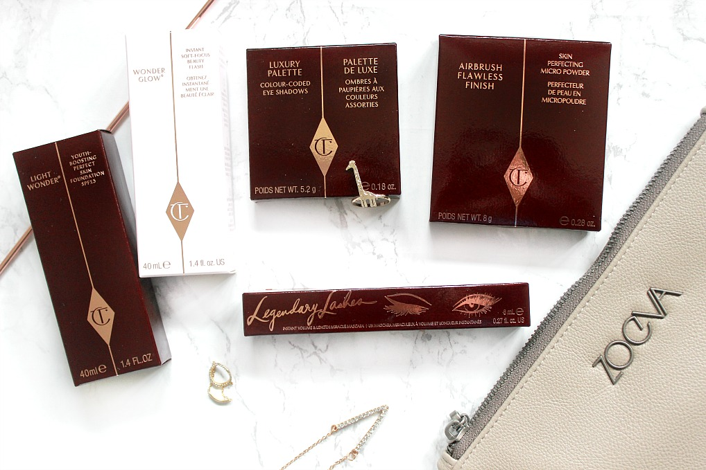 charlotte tilbury and zoeva haul