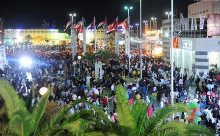 500 ألف زائر في اليوم التاسع من معرض دمشق الدولي (فيديو)