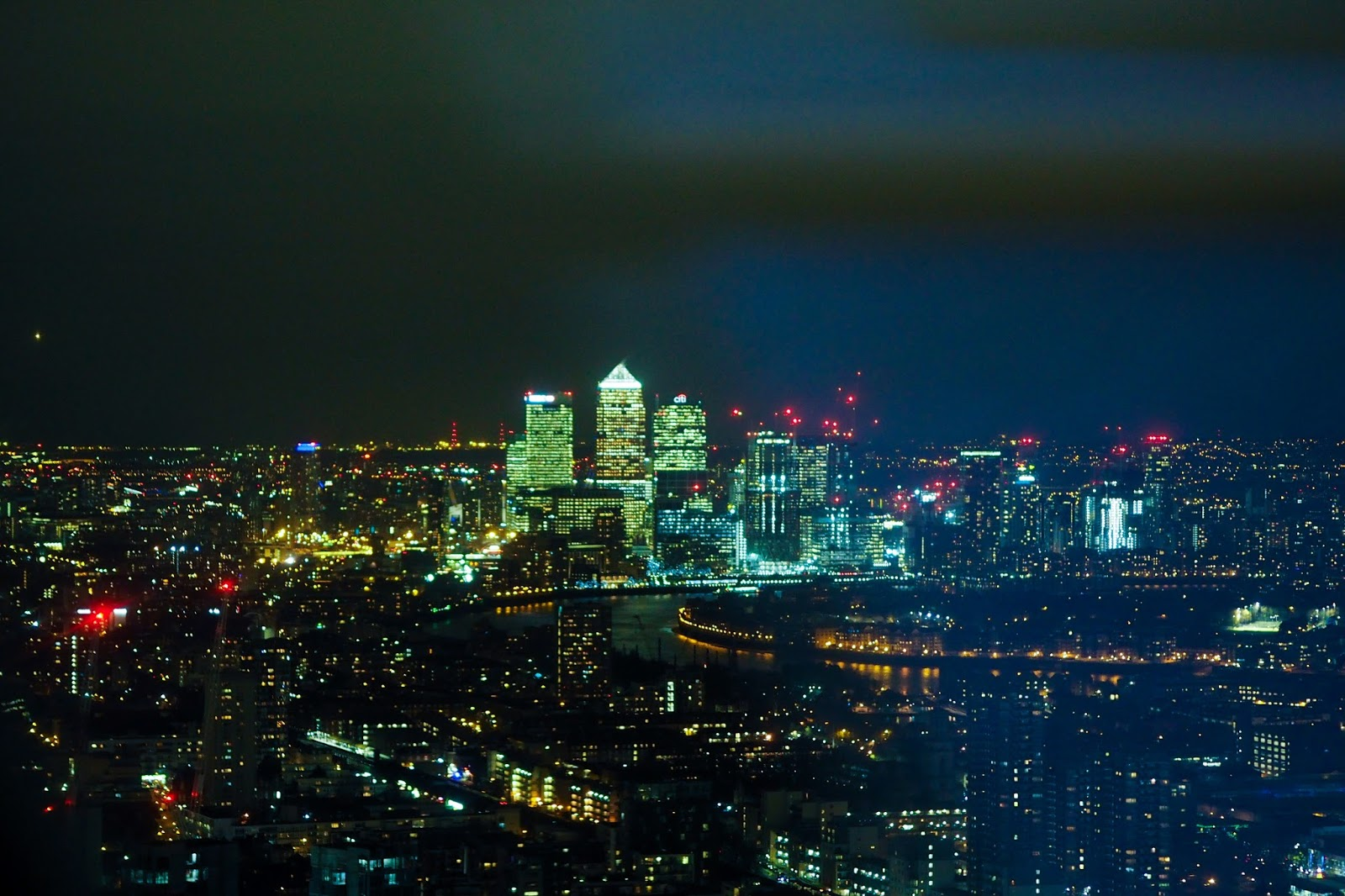 View from Searcys at the gherkin