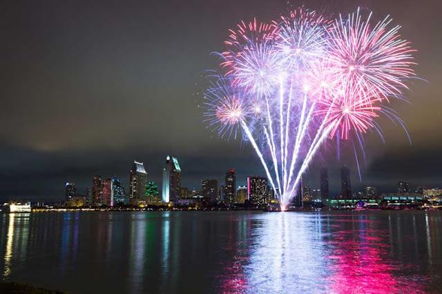 Réveillon e virada do ano em San Diego