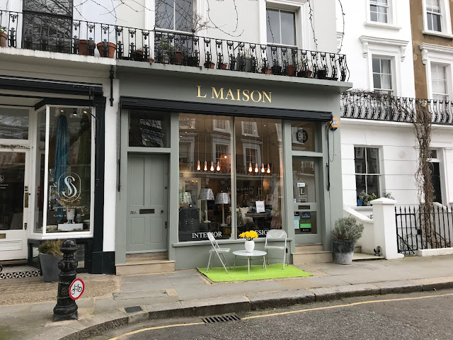 L Maison shopfront, Clarendon Cross, Notting Hill, London