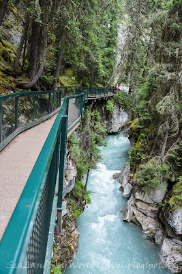 Johnston Canyon, Banff, 班芙