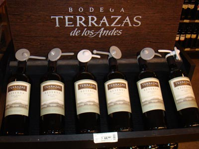 Wining Forever 2008 Terrazas De Los Andes Malbec Mendoza