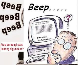 Bunyi Beep pada Laptop Acer