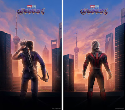 Avengers: Endgame International Character One Sheet Movie Posters