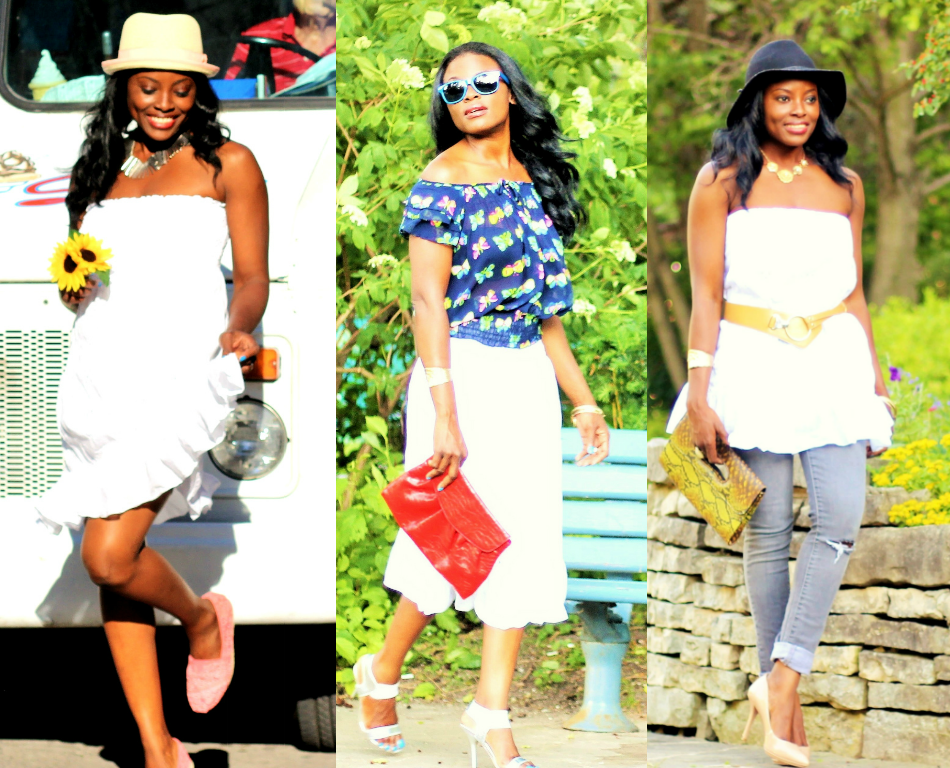 1 Little White Dress: 3 Refreshing Ways
