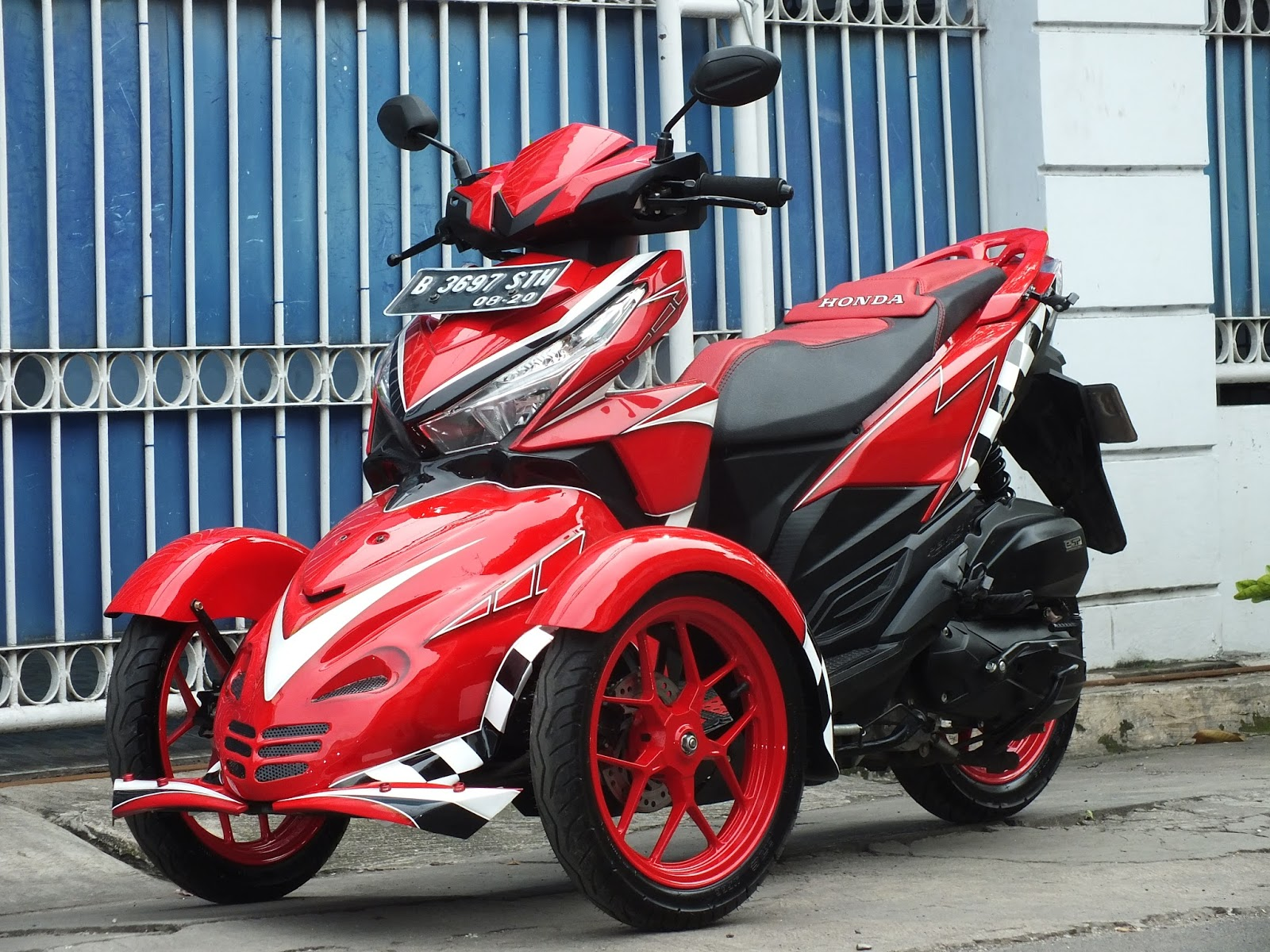 Oracle Modification Concept HONDA VARIO 150 New MODIF RODA TIGA