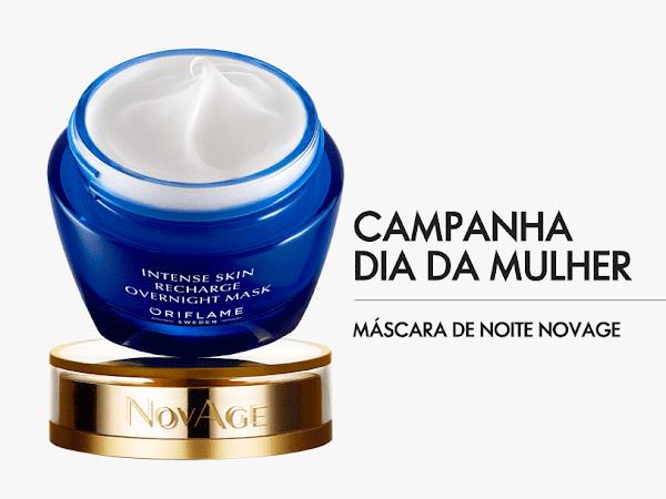 Campanha Dia da Mulher: Máscara de Noite NovAge