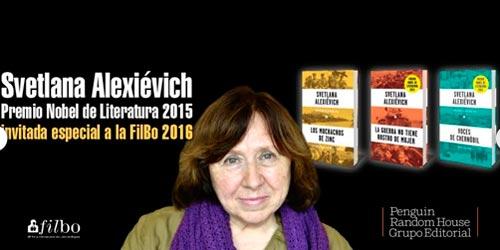 Svetlana Alexiévich en la FILBo