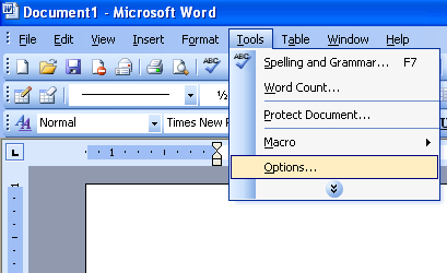 view page margins in microsoft word 2003 microsoft office support. Black Bedroom Furniture Sets. Home Design Ideas