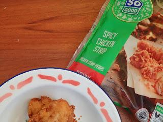 So Good Spicy Chicken Strip Nikmatnya Membara