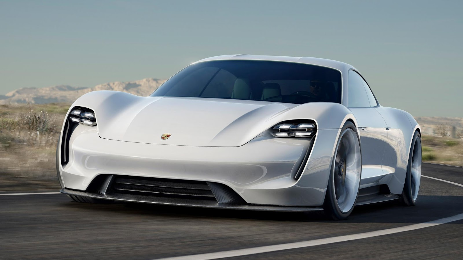 Awd Electric Car >> 2018 Porsche Mission E 600 Hp Awd Electric Vehicle Concept