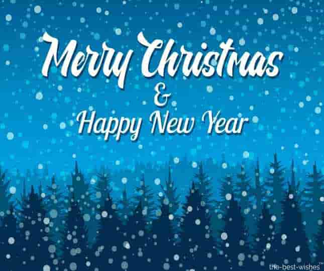 happy christmas and new year messages