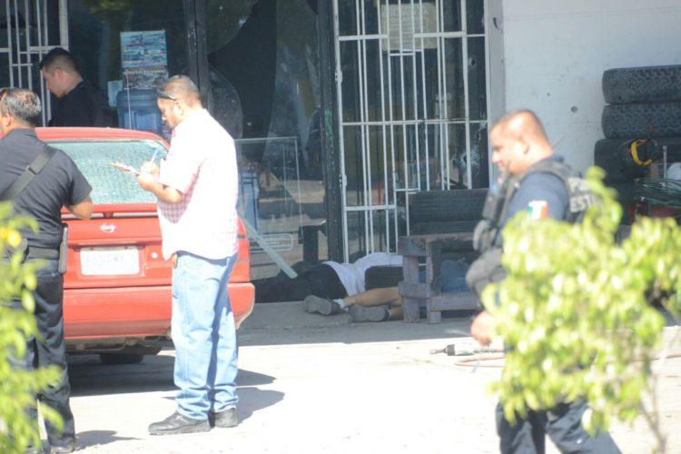 Intensa balacera deja como saldo 4 muertos y 2 heridos en La Paz